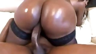 Big black booty riding dick MILF twerkin on that dick