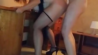 Sexy Polish Wife Getting Banged Doggy While Husband Films
