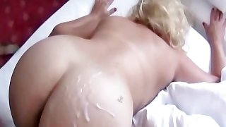 Juicy MILF butt fuck and cumshot